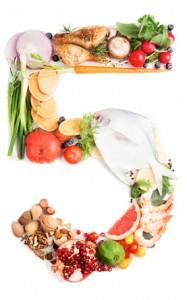 cinco comidas al día