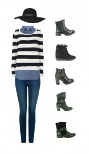 outfit con zapatos best sellers querol