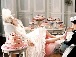 Fotograma de la película María Antonieta, de Sofia Coppola