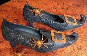decorar zapatos bruja