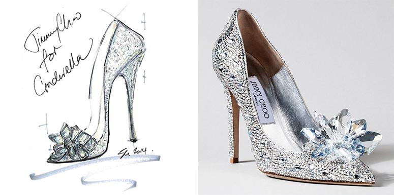 Zapatos de Cenicienta según Jimmy Choo