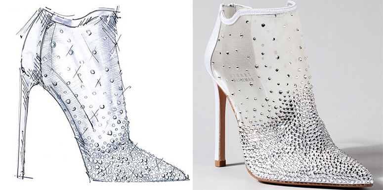 Zapatos de Cenicienta según Stuart Weitzman