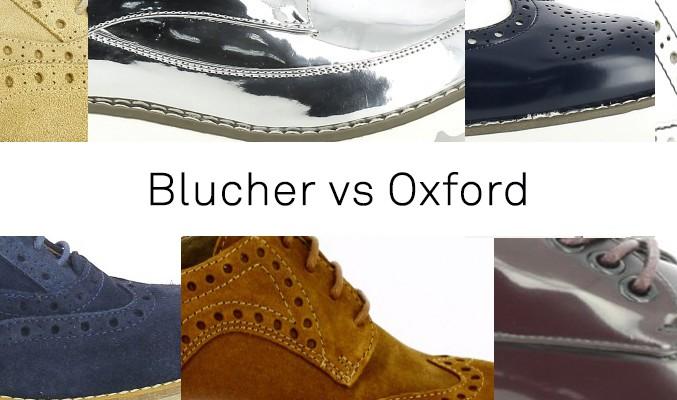 BLUCHER VS OXFORD