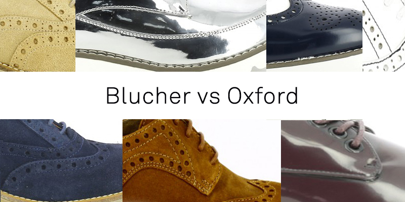 BLUCHER VS OXFORD
