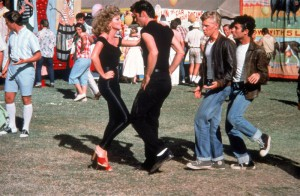 escena final de grease