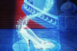 zapatos de cristal cenicienta