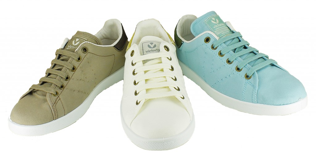 zapatillas victoria tipo stan smith - querol online