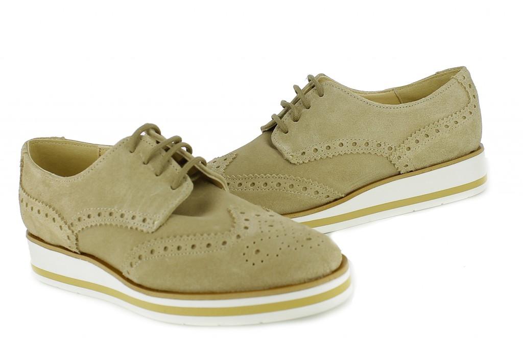 zapatos de primavera bluchers - querol online