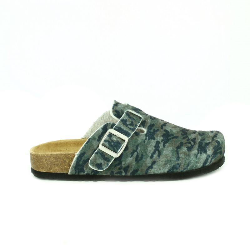 zapatillas casa gioseppo estampado militar para hombre - querol online