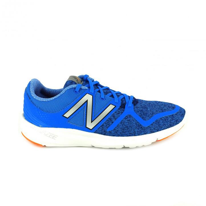 zapatillas new balance azules - querol online