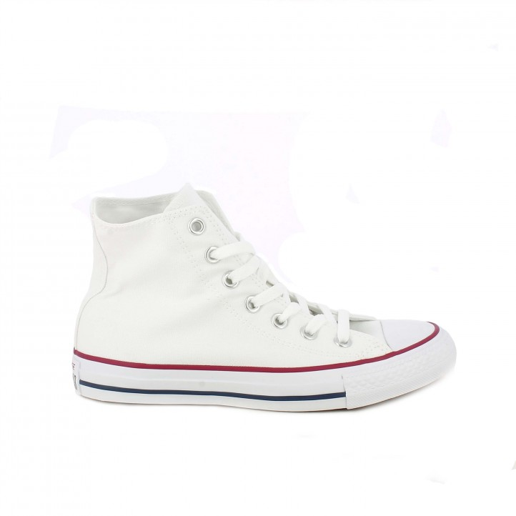 Zapatillas lona Converse botas chuck taylor all star blancas