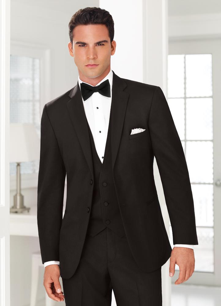 Traje formal de noche hombre