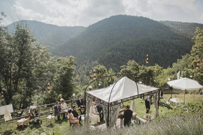 ceremonia en la montaña
