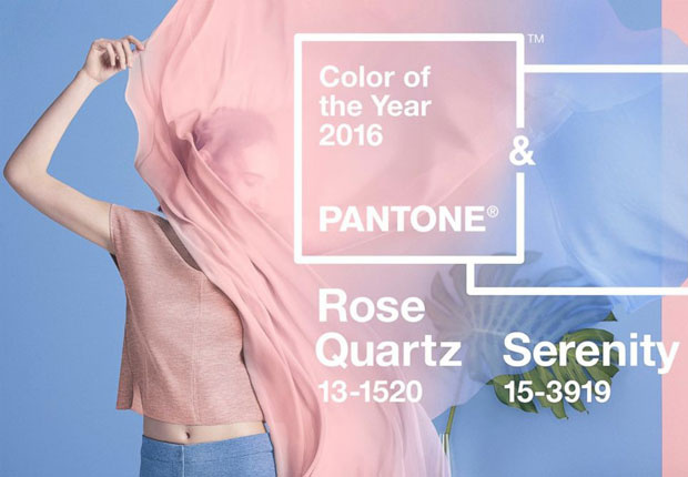 color rosa cuarzo tendencias moda 2016