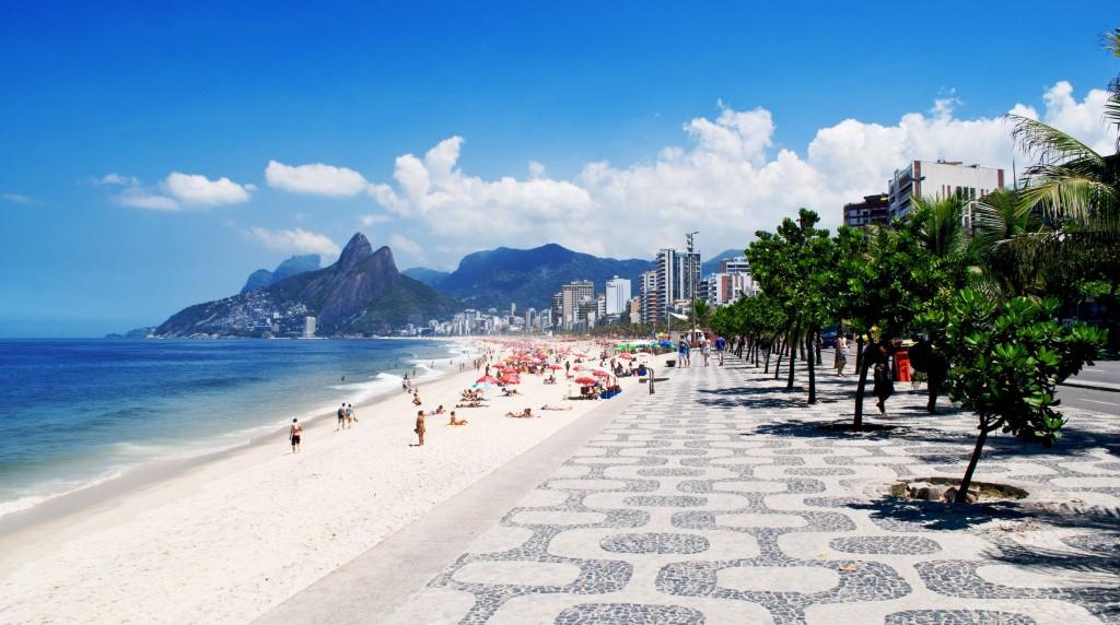 Playa Ipanema en Rio de Janeiro