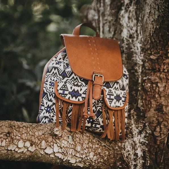mochila tribal mustang en querol online