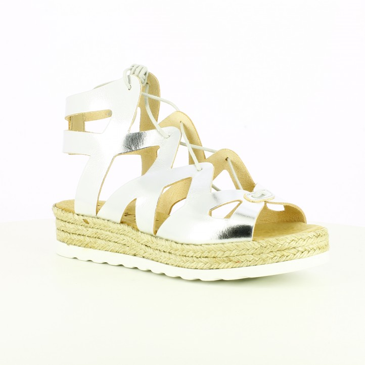 sandalias-planas-lince-romanas-plateadas-de-piel