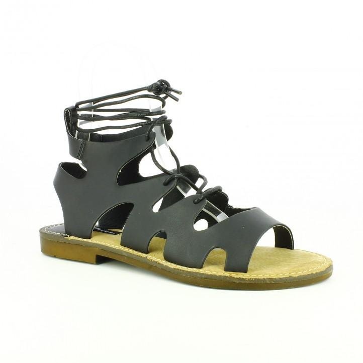 sandalias-planas-mustang-romanas-negras