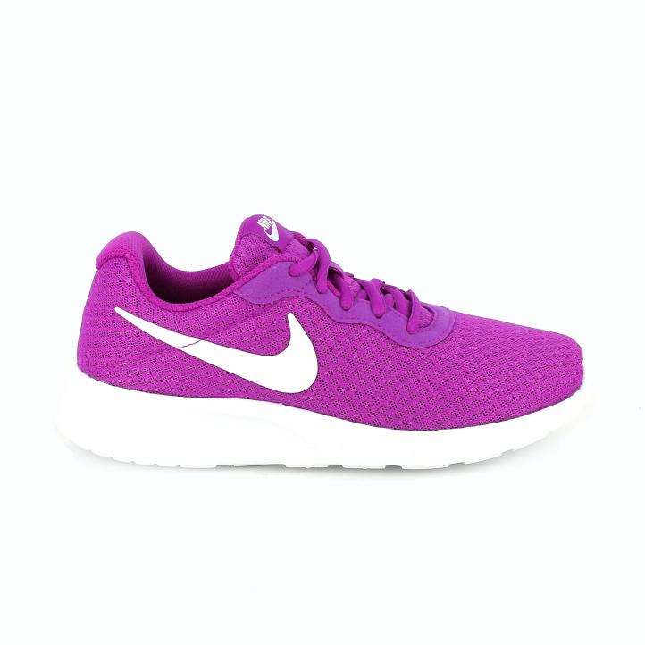 zapatillas nike tanjun lila morado fucsia - Querol Online