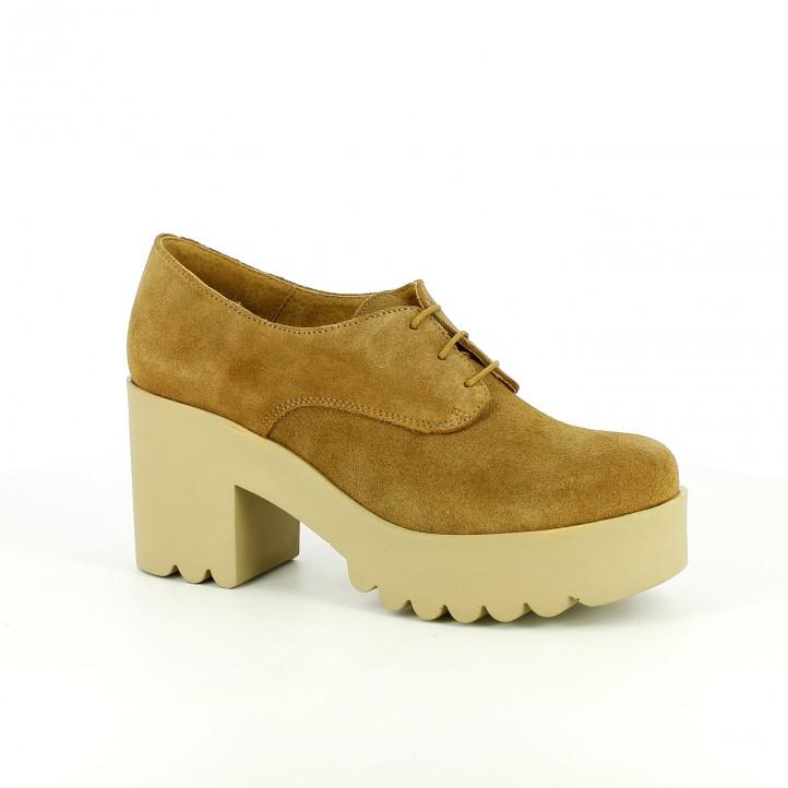 b95f7760c739c zapatos tacón redlove de piel con suela track
