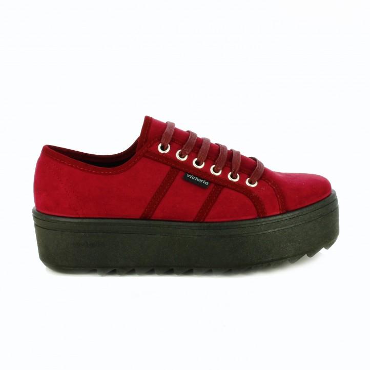 zapatillas-lona-victoria-burdeos-y-negras
