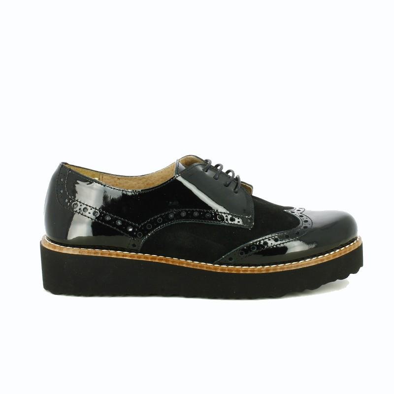zapatos-planos-redlove-bluchers-negros-con-charol
