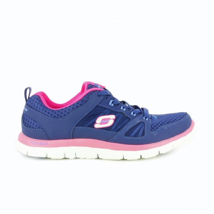zapatillas-deportivas-skechers-memory-foam-azules-y-lilas