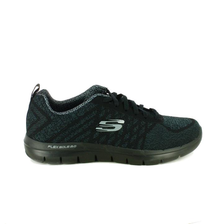 8ad84ce1ac9b4 zapatillas-deportivas-skechers-negras-con-suela-flexible ...