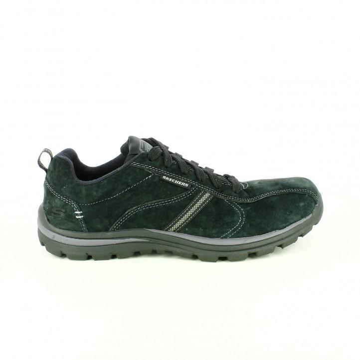 zapatillas-deportivas-skechers-negras-piel-con-memory-foam