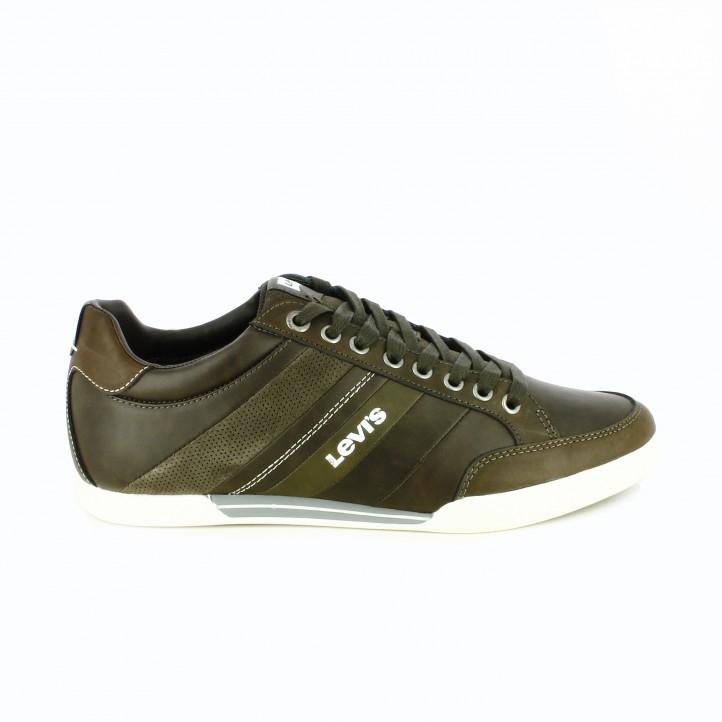 zapatos-sport-levis-marron-oscuro-de-piel