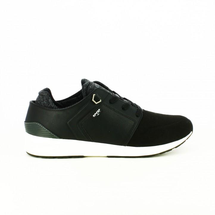 zapatos levi's otoño zapatos-sport-levis-negras-y-grises-suela-blanca