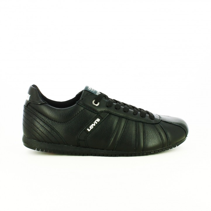 zapatos levi's otoño zapatos-sport-levis-negros-de-piel-con-lineas