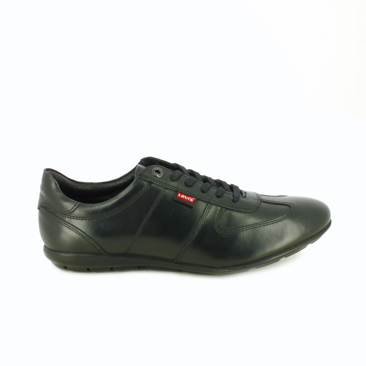 zapatos levi's otoño zapatos-sport-levis-negros-de-piel