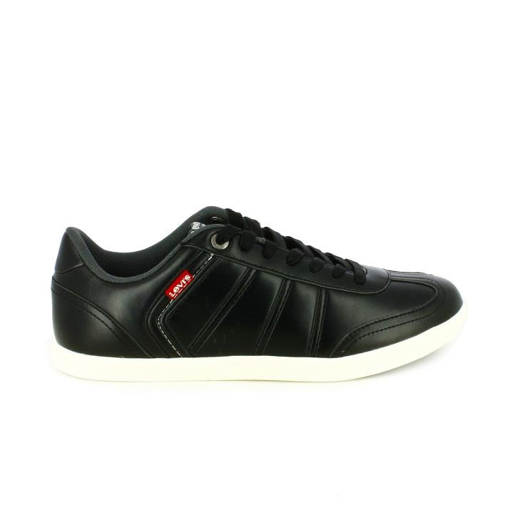 zapatos levi's otoño zapatos-sport-levis-negros-piel-suela-blanca