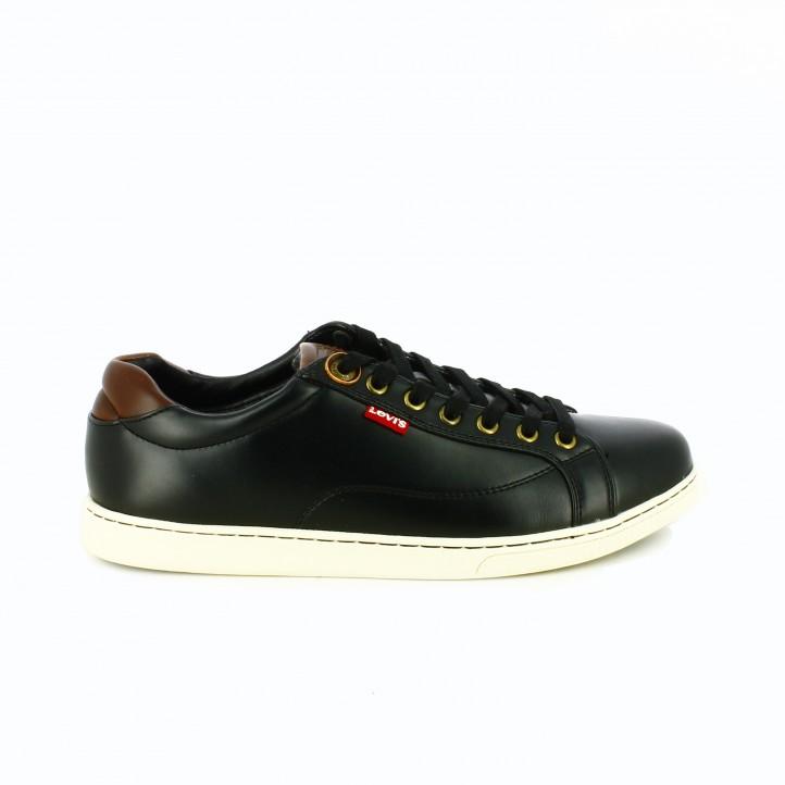 zapatos levi's otoño zapatos-sport-levis-negros-y-marrones-piel