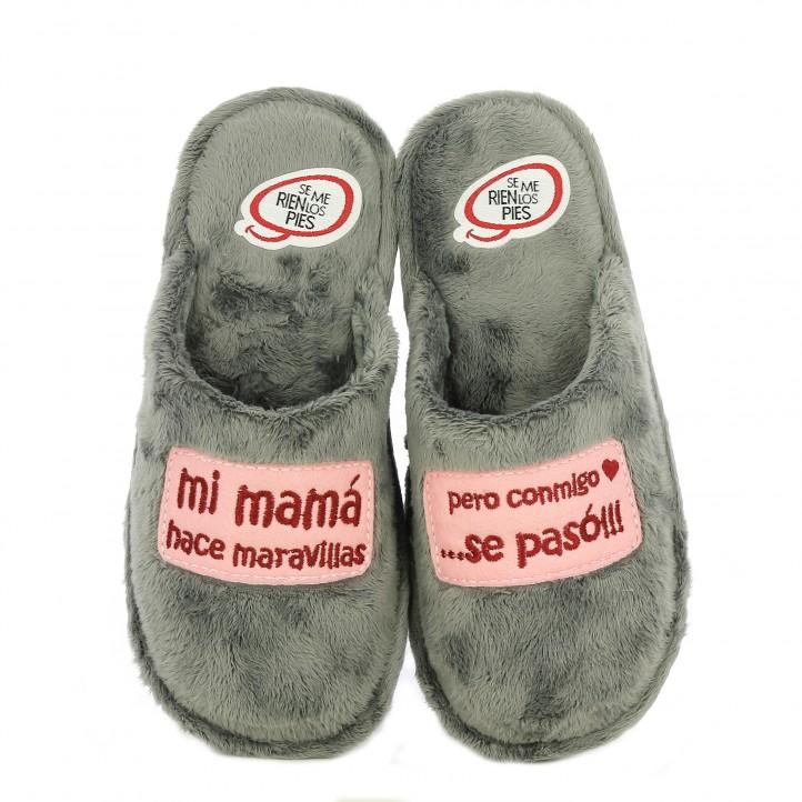 zapatillas casa laro grises mi mama hace maravillas