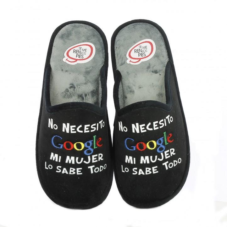 zapatillas-casa-laro-no-necesito-google-mi-mujer-lo-sabe-todo