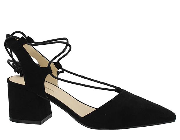 sandalias salon con tacón cuadrado - tendencias en calzado para 2017