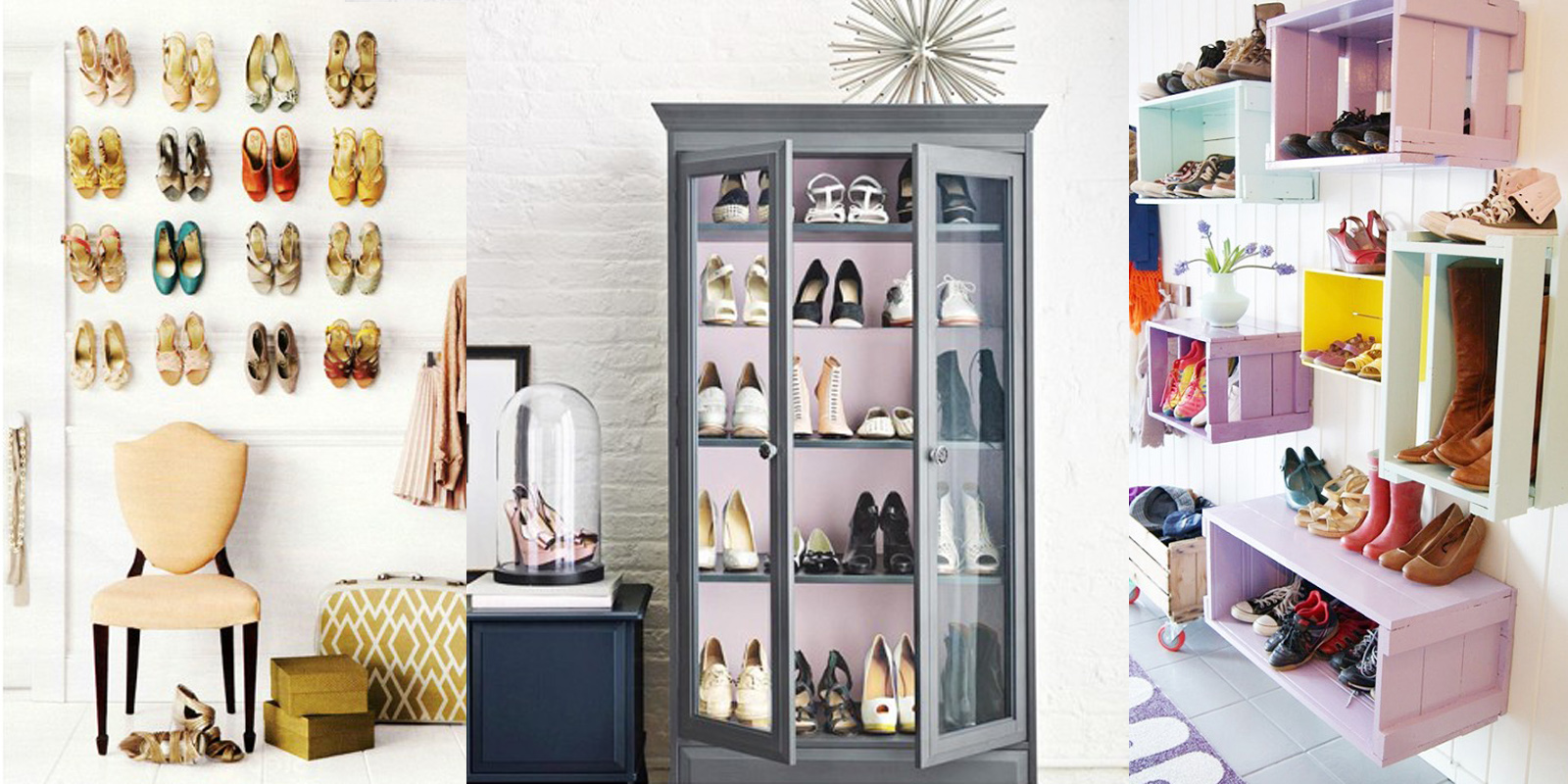 como organizar tus zapatos