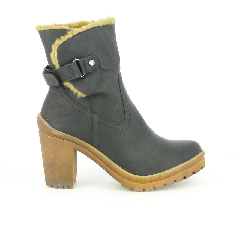 Zapatos marrones formales REFRESH para mujer 4KB2J