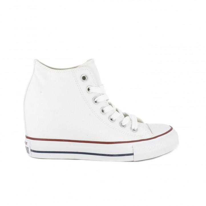 converse zapatillas de cuña