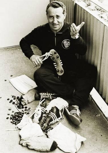 Adolf Dassler fabricaron los primeros zapatos