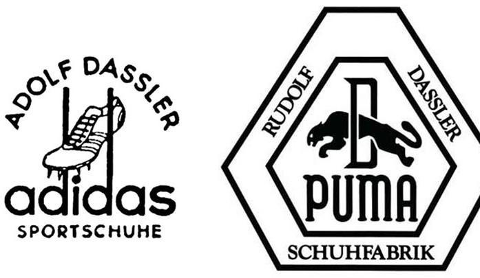 logos puma y adidas