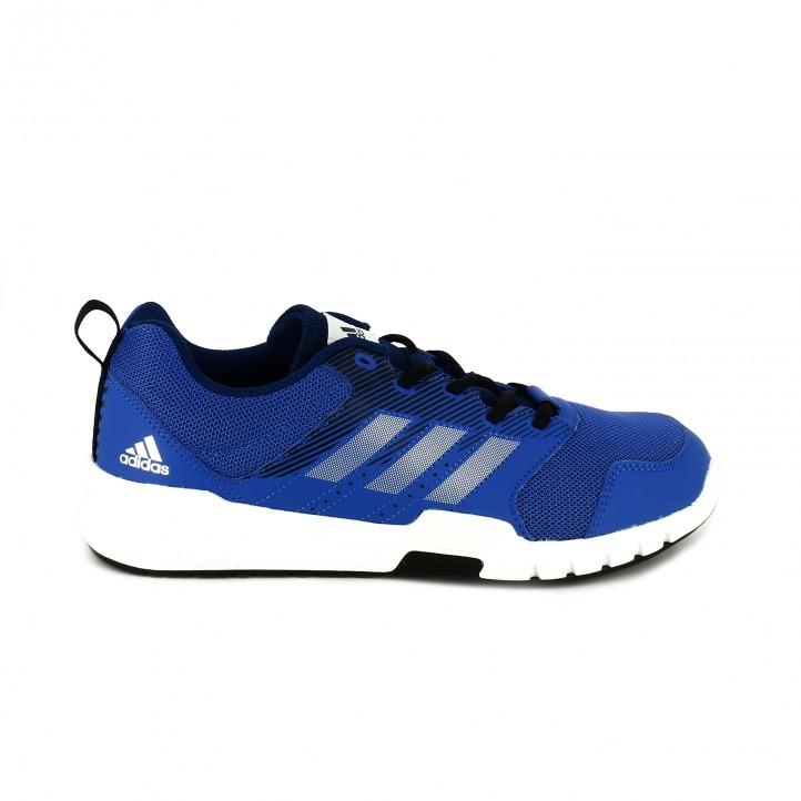 zapatos para cada tipo de padre // zapatillas deportivas adidas essential star 3 m azules