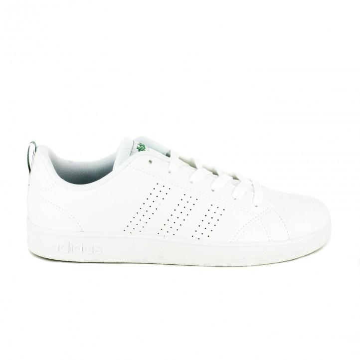 deportivas adidas neo blancas advantage clean