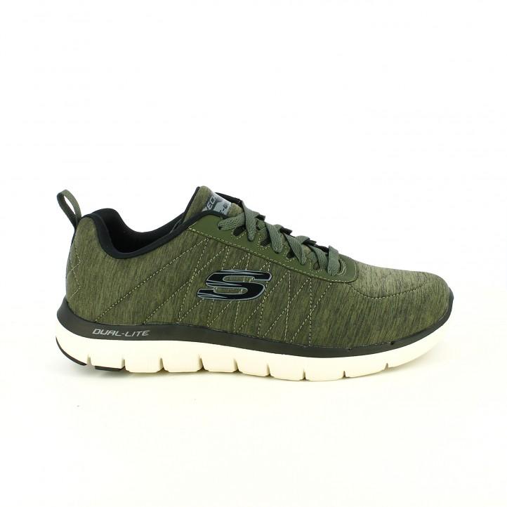 zapatos para cada tipo de padre // zapatillas deportivas skechers verdes