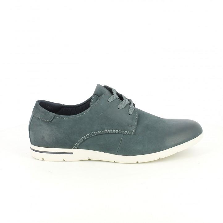 zapatos sport vicmart bluchers azules
