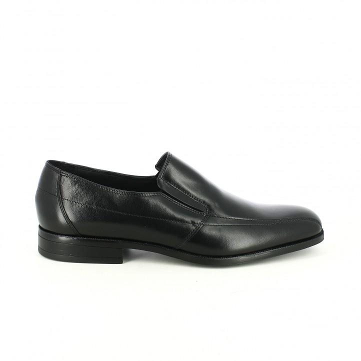 zapatos vestir baerchi mocasines de piel con goma