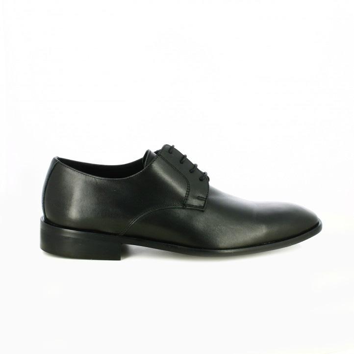 zapatos vestir carlo torrecci clasicos negros y con cordones