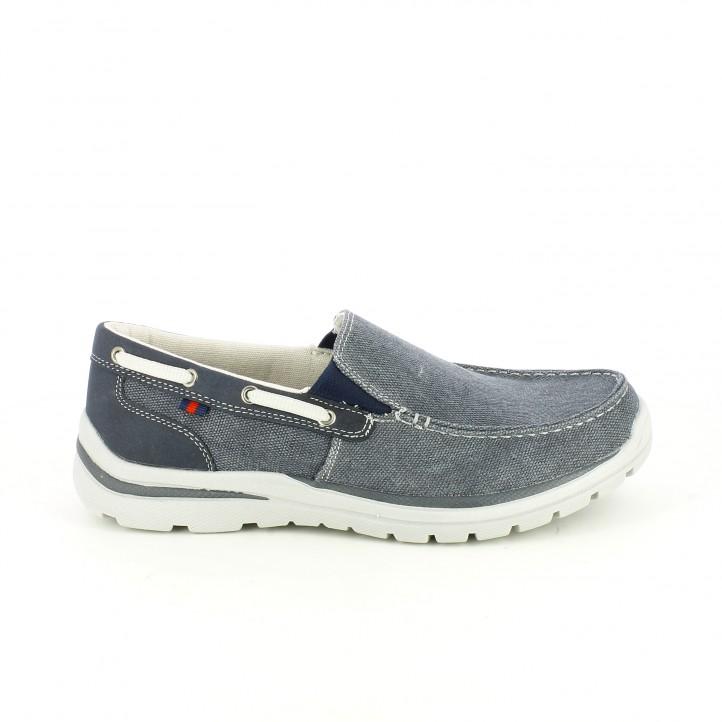 zapatos sport sprox azules con plantilla flexible